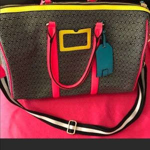 Aldo multicolor duffel bag only used 3 times